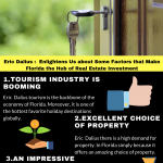 2020 Infographic by Eric Dalius on  Enlightens Us about Some Factors that Make Florida the Hub of Real Estate Investment