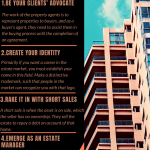 2020 Infographic by Eric J Dalius on Gives some tips to earn money as a real estate agent