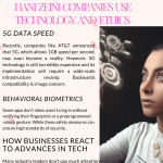 2020 Infographic by Hani Zeini: on How Companies Use Technology and Ethics