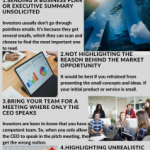 2020 Infographic by Marc Ravenscroft on  Pitching to investors – Crucial mistakes that entrepreneurs make