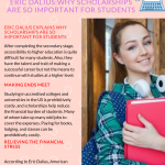 2020 Infographic by Eric Dalius explains why scholarships are so important for students