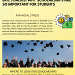2020 Infographic by Eric J Dalius explains why scholarships are so important for students