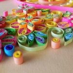 How to make paper quilling earrings with simple steps