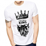 Are printed t-shirts more popular than normal t-shirts?