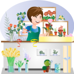 How flower delivery service is convenient for the people?